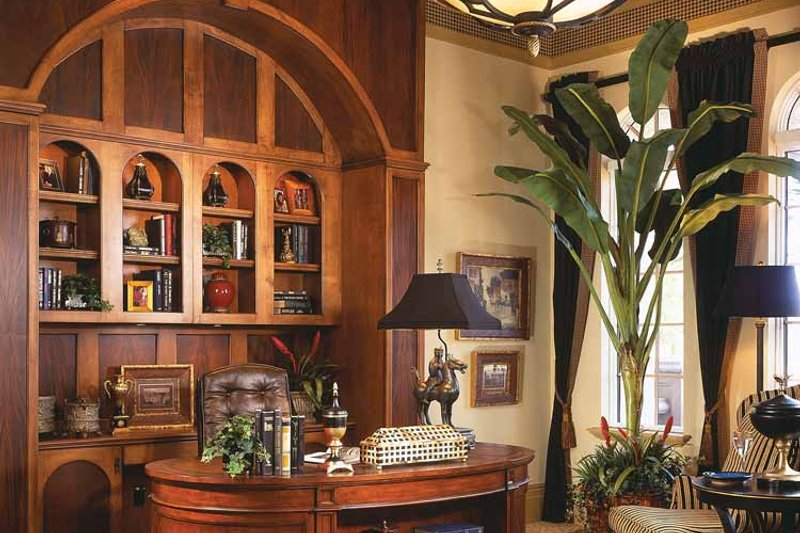 Mediterranean Interior - Other Plan #930-92 - Houseplans.com