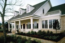 Dream House Plan - Colonial Exterior - Front Elevation Plan #320-844