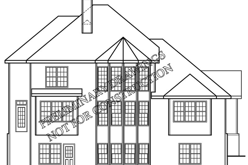 Country Exterior - Rear Elevation Plan #927-890 - Houseplans.com