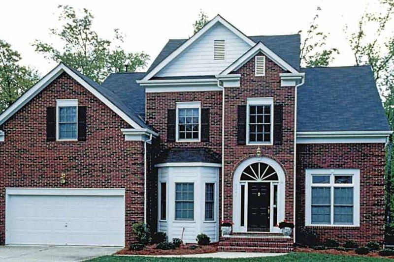 Colonial Exterior - Front Elevation Plan #453-478 - Houseplans.com