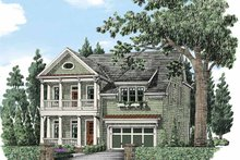 House Plan Design - Colonial Exterior - Front Elevation Plan #927-485