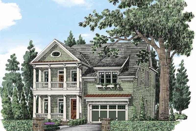 Colonial Exterior - Front Elevation Plan #927-485 - Houseplans.com