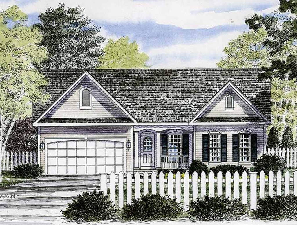 styles of homes ranch style house plan 2 beds 2 baths 1716 sq ft plan 29870