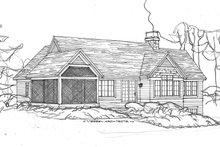 House Plan Design - Ranch Exterior - Rear Elevation Plan #928-283