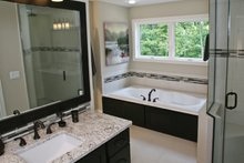Architectural House Design - Prairie Interior - Master Bathroom Plan #928-248