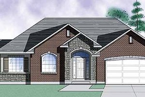 Dream House Plan - Traditional Exterior - Front Elevation Plan #945-8