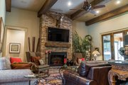 Craftsman Style House Plan - 4 Beds 2.5 Baths 2470 Sq/Ft Plan #17-3391 Interior - Family Room