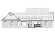 Country Exterior - Rear Elevation Plan #21-372