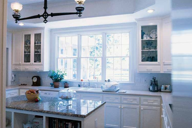 Classical Interior - Kitchen Plan #71-146 - Houseplans.com