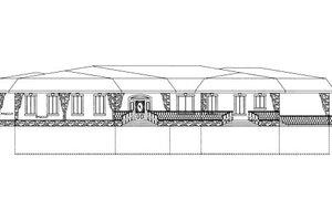 Modern Exterior - Front Elevation Plan #117-631