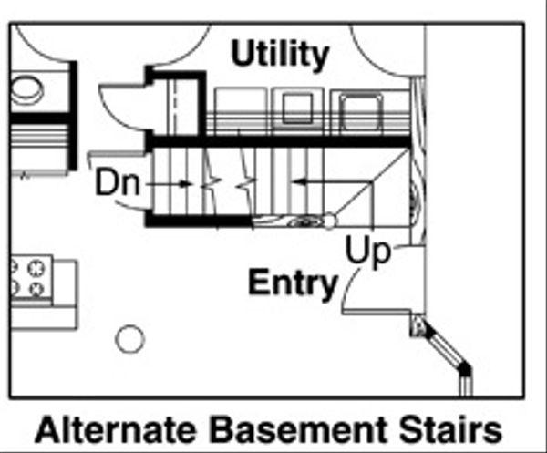 Cabin Floor Plan - Other Floor Plan Plan #124-263