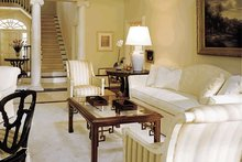 Colonial Interior - Family Room Plan #137-230