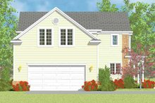 Country Exterior - Other Elevation Plan #72-1113