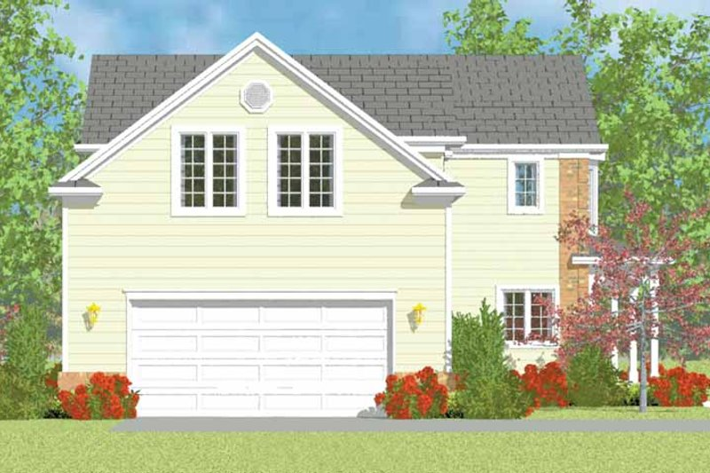 House Blueprint - Country Exterior - Other Elevation Plan #72-1113