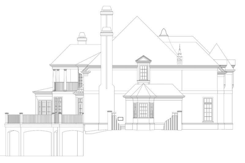 European Exterior - Other Elevation Plan #119-419 - Houseplans.com