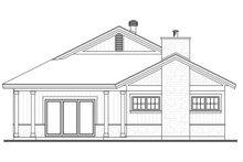 Home Plan - Ranch Exterior - Rear Elevation Plan #23-2655