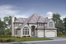 Traditional Exterior - Front Elevation Plan #132-425