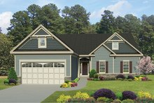 Home Plan - Ranch Exterior - Front Elevation Plan #1010-138