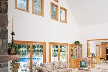 Country Interior - Family Room Plan #929-22