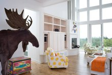 Modern Interior - Family Room Plan #48-468