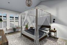 Ranch Interior - Master Bedroom Plan #1060-30
