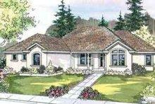 Home Plan - European Exterior - Front Elevation Plan #124-514
