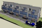 Modern Style House Plan - 2 Beds 2 Baths 5850 Sq/Ft Plan #448-1
