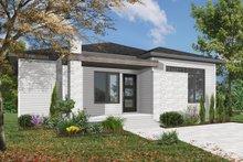House Plan Design - Modern Exterior - Front Elevation Plan #23-2638