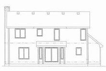Traditional Exterior - Rear Elevation Plan #20-572