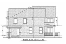 House Design - Colonial Exterior - Other Elevation Plan #20-2442