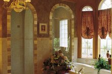 House Plan Design - Mediterranean Interior - Bathroom Plan #417-662