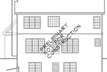 Country Exterior - Rear Elevation Plan #927-253