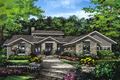 Prairie Style House Plan - 3 Beds 2.5 Baths 2115 Sq/Ft Plan #929-1001 Exterior - Front Elevation