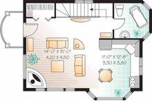 Craftsman Floor Plan - Upper Floor Plan Plan #23-2458
