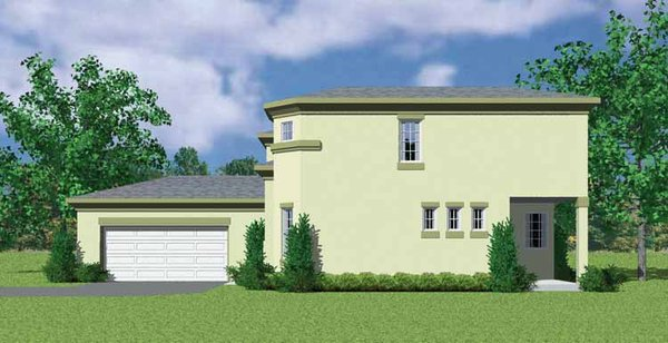 Contemporary Floor Plan - Other Floor Plan Plan #72-1125