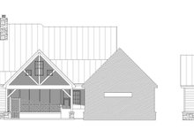 Country Exterior - Rear Elevation Plan #932-66
