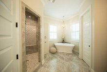Architectural House Design - Prairie Interior - Master Bathroom Plan #930-463