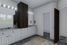House Plan Design - Traditional Interior - Master Bathroom Plan #1060-61