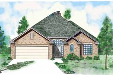 Country Exterior - Front Elevation Plan #52-260