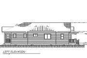 Bungalow Style House Plan - 3 Beds 2 Baths 1500 Sq/Ft Plan #422-28 Exterior - Other Elevation