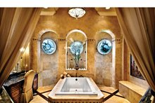 Mediterranean Interior - Master Bathroom Plan #930-440