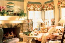 Country Interior - Family Room Plan #429-308