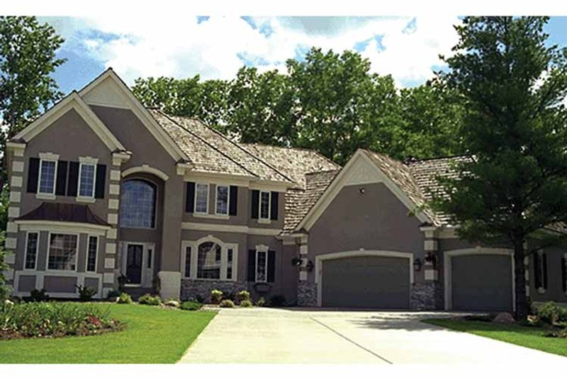 Traditional Exterior - Front Elevation Plan #51-785 - Houseplans.com