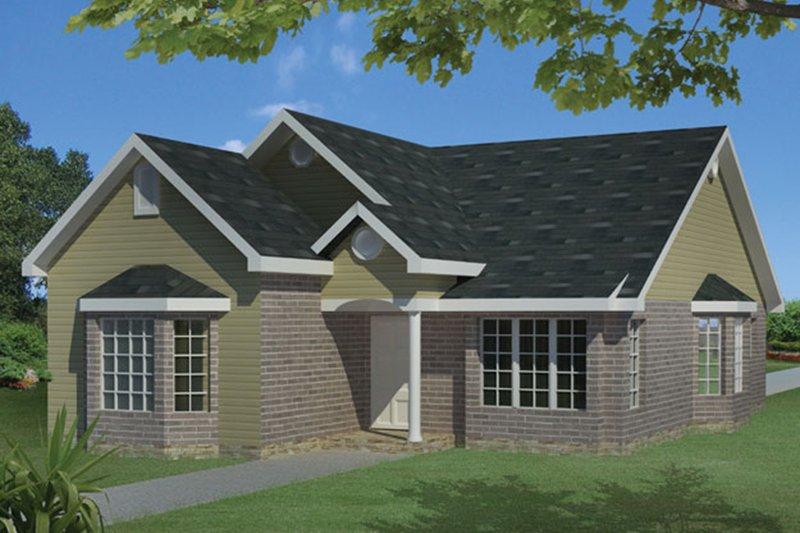 House Plan Design - Ranch Exterior - Front Elevation Plan #1061-23