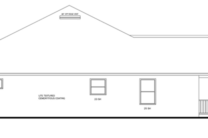 Traditional Exterior - Other Elevation Plan #1058-50 - Houseplans.com