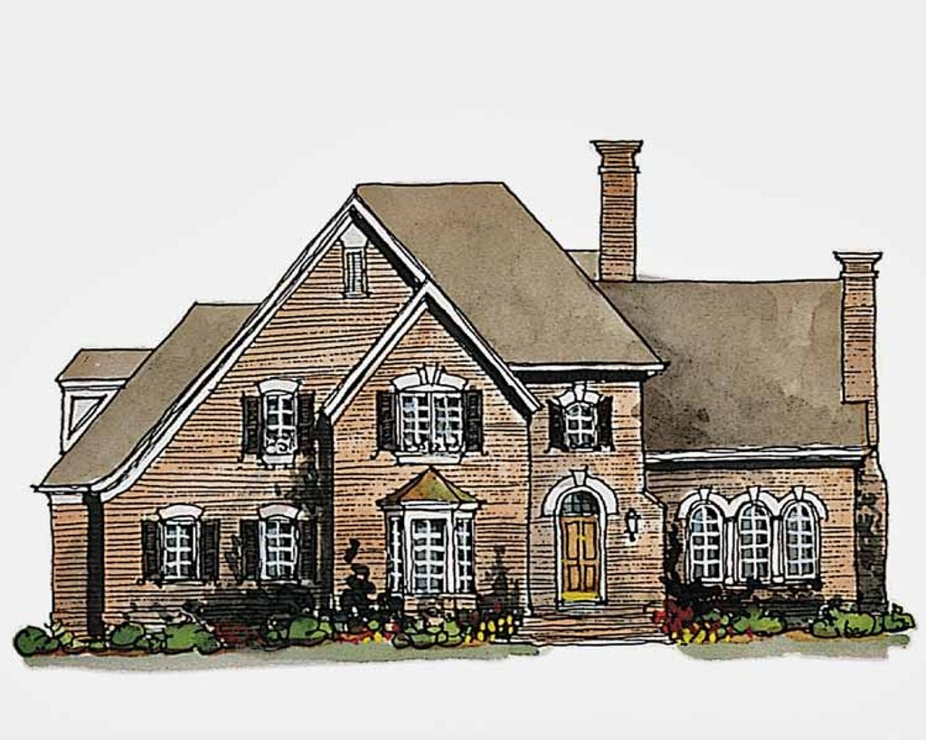 Traditional Exterior - Front Elevation Plan #429-187