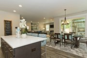 Contemporary Style House Plan - 5 Beds 3.5 Baths 3319 Sq/Ft Plan #569-38 Interior - Kitchen