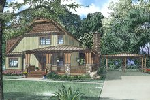 Craftsman Exterior - Front Elevation Plan #17-3382