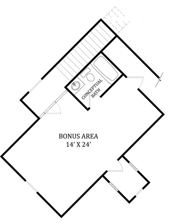 Craftsman Floor Plan - Other Floor Plan Plan #119-422