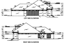Home Plan - Southern Exterior - Other Elevation Plan #36-195